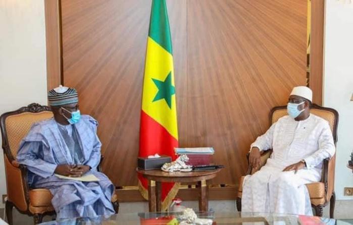 Présentation de condoléances : Le Président Macky Sall a reçu ce vendredi une délégation du Président Muhammadou Buhari.
