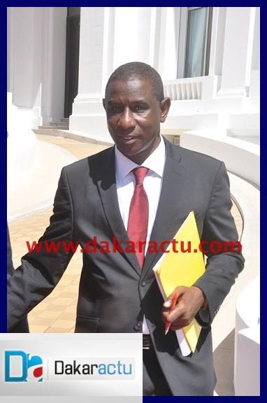 voici monsieur mamadou talla  ministre de la formation