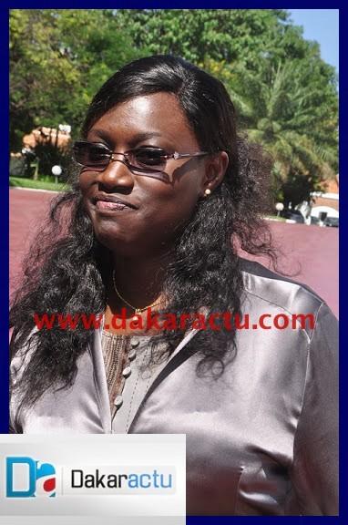 Voici Madame Arame NDOYE, Ministre de l'Aménagement du Territoire et des Collectivités locales