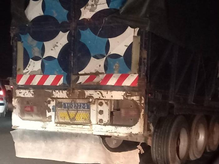 Autoroute à péage : Un camion dérape et bloque la circulation...