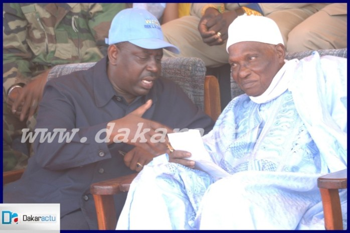 Abdoulaye Wade  et Macky Sall