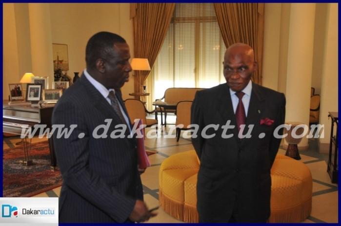 Me Abdoulaye Wade et Cheikh Tidiane Gadio