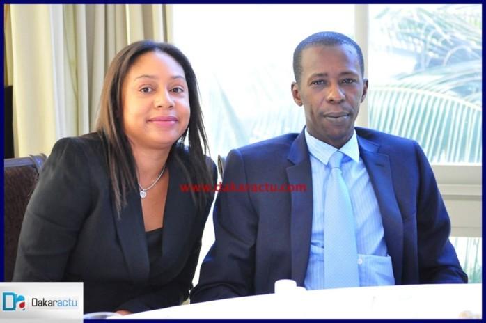 Le couple Cheikh et Marie Amar