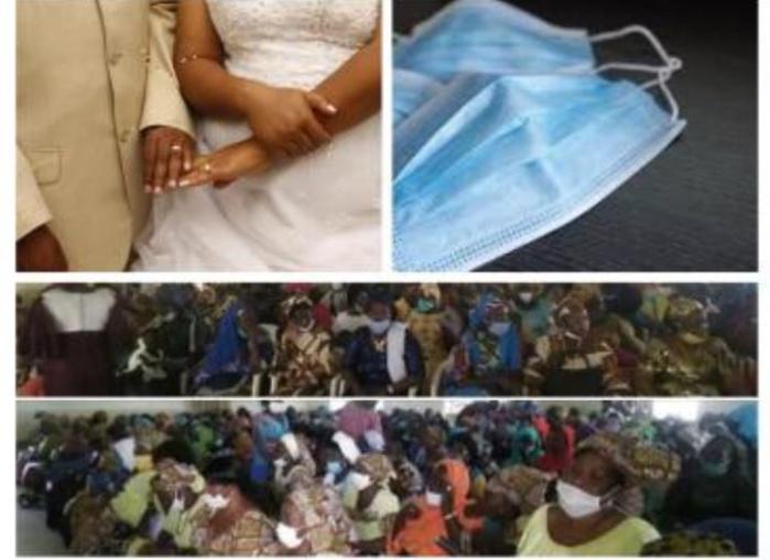 Rassemblements lors de mariage et autres cérémonies, non port correct de masques : Quand les autorités défient elles mêmes  l'autorité…