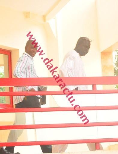Les douaniers , Abdou Khadre Kébé et son adjoint Pape Massiré Thiam