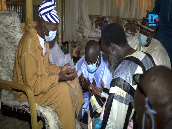 Présentation de condoléances : Moustapha Sow à Médina Baye (images).