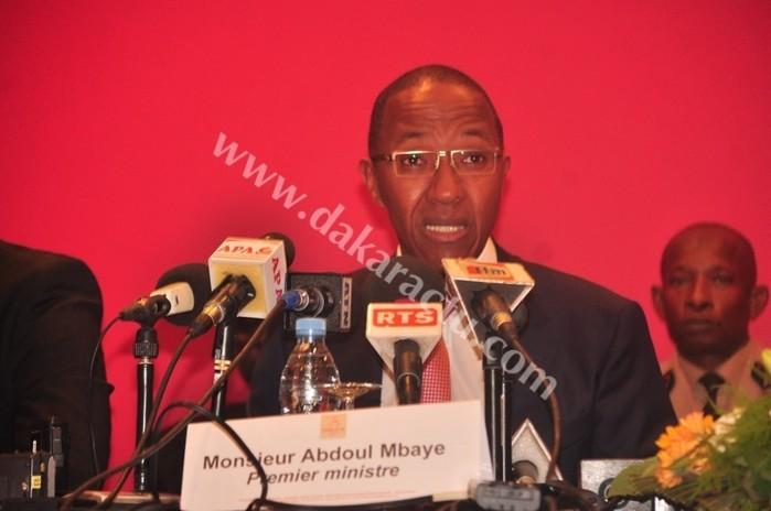 """Abdoul Mbaye rectifie """"La Lettre du Continent"""""""