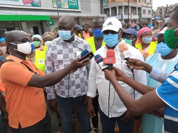 Inondations à Ziguinchor / Le maire Abdoulaye Baldé lance le programme de désensablement.