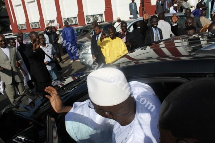 Alioune Badara Cissé renonce à certains avantages.