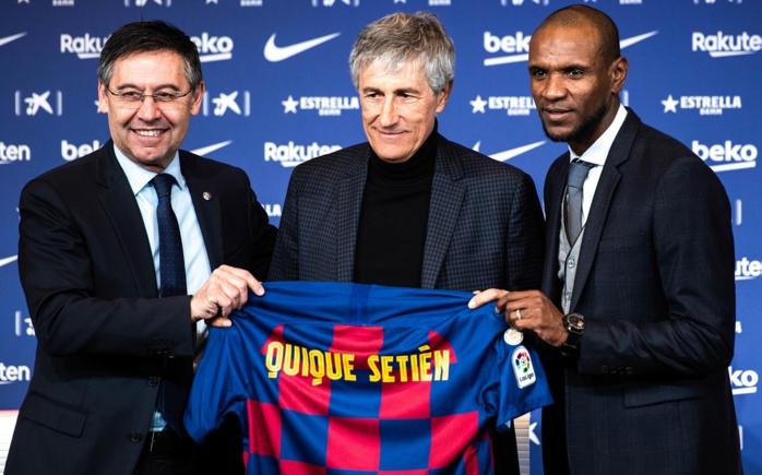 FC Barcelone : Josep Maria Bartomeu annonce le départ de Quique Setién.