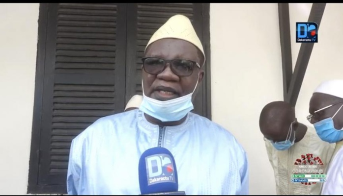 Me Ousmane Ngom rend hommage à son petit frère Masseck Ngom.