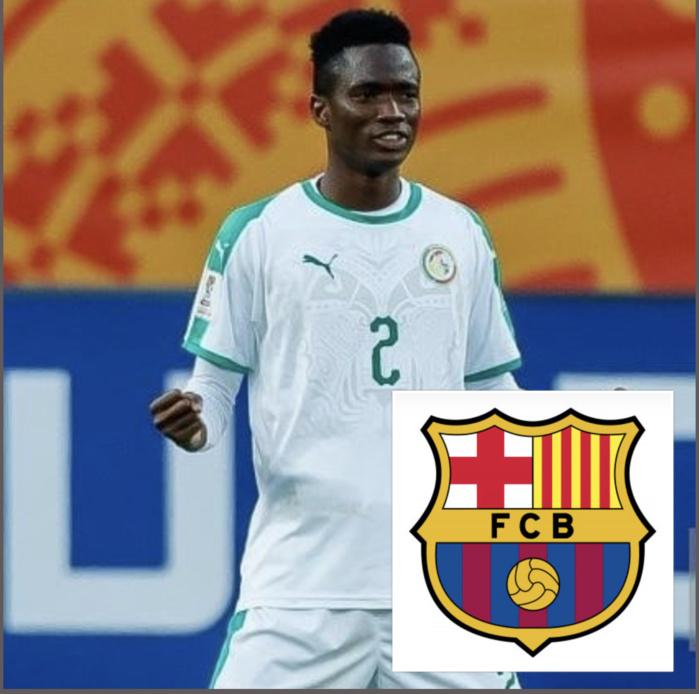 Mercato : L'international Sénégalais Moussa Ndiaye sur les tablettes du FC Barcelone, son arrivée retardée par la Covid-19.