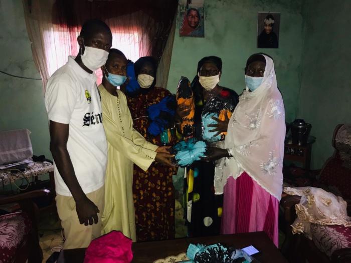 Appel du chef de l'État aux jeunes : Moussa Baldé, président du Conseil départemental de Kolda remet 3000 masques aux jeunes et aux « badiénou gox ».
