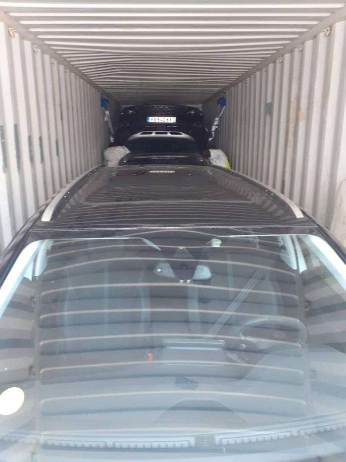TRAFIC INTERNATIONAL DE VEHICULES : La Douane du Port de Dakar intercepte 9 véhicules volés en Europe.