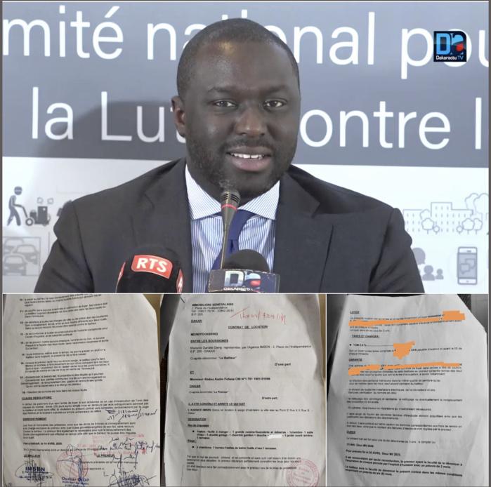 Achat d'une villa à 600 millions par un ministre de la République : Les documents qui confirment la thèse de la location.