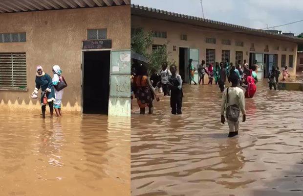 CFEE 2020 / Inondation de l'école Pikine 20 B : Les précisons du ministère de l'éducation nationale.