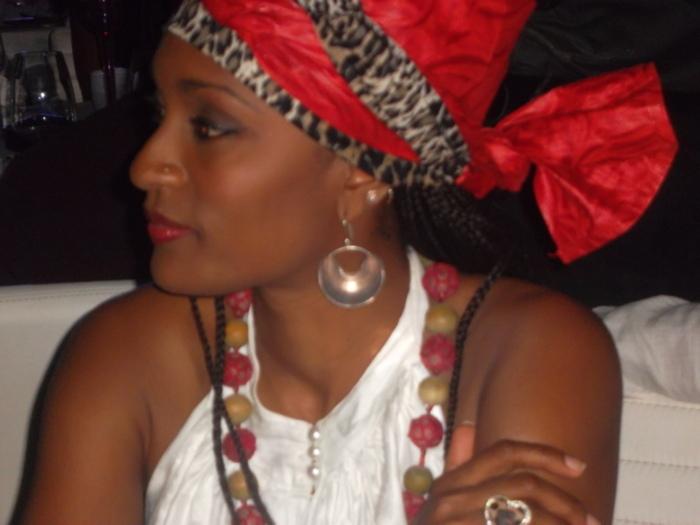 Kanya, la femme de Cyrille Bathily et gérante du Nirvana
