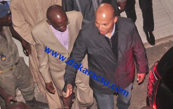 Karim Meïssa Wade est arrivé hier à Dakar.