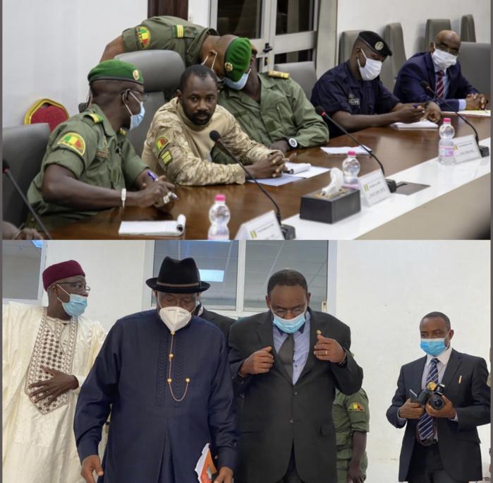 Mali : Des compromis trouvés sur des points, les pourparlers entre le CNSP et la CEDEAO se poursuivent ce lundi.