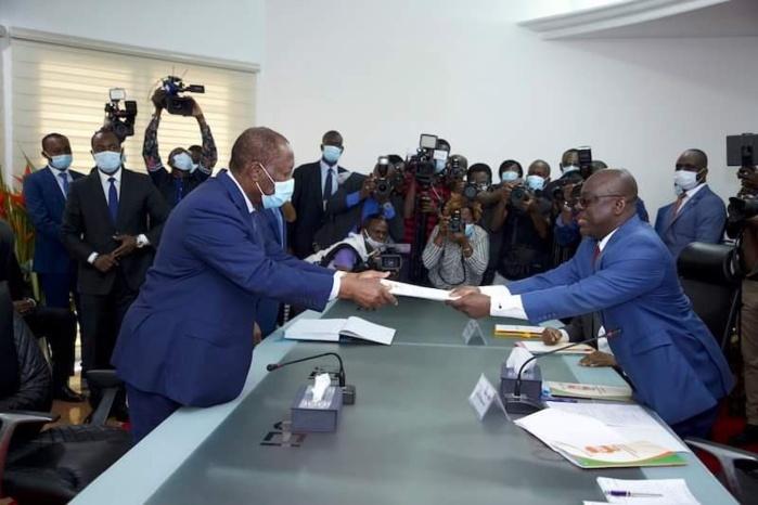 Officiel / Alassane Dramane Ouattara est candidat à la présidentielle d'octobre.
