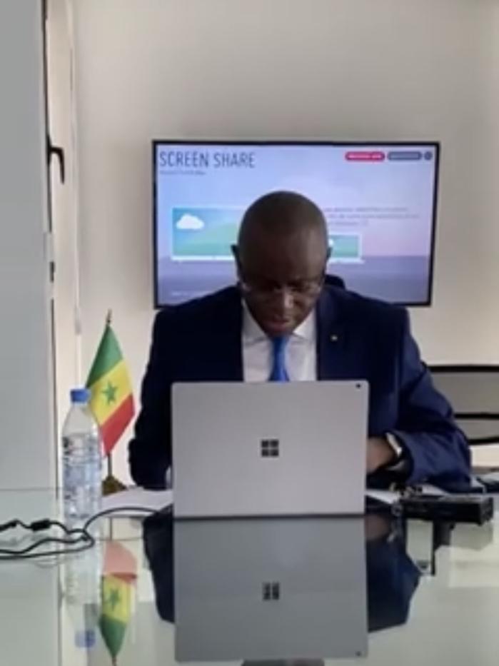 Télèconférence des ministres des sports sur les impacts de la Covid-19 : Matar Bâ dévoile le modèle Sénégalais et fait des recommandations.