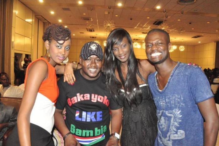 """Katy, Bakayoko et Lissa de """"Un Café Avec"""" avec le rappeur Fata en Gambie"""