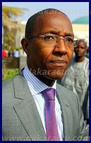 Abdoul Mbaye en visite officielle à Saint Louis.