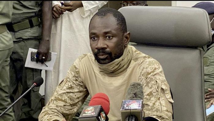 Mali : Le Colonel Assimi Goita officiellement chef de l'Etat.