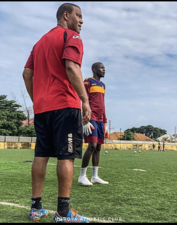 Retour de blessure : L'international Sénégalais, Khadim Ndiaye à l'entraînement après plus d'un an.