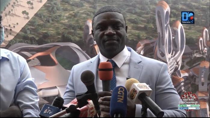 AkonCity : « Avec ce projet, j'offre une nouvelle alternative aux nombreux afro-américains qui ignorent leurs origines » (Akon)