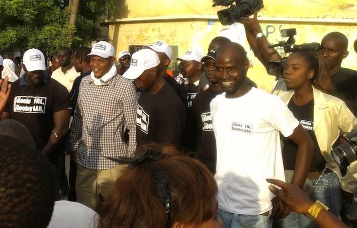Manifestation des jeunes de l'Apr devant la gendarmerie : Mame Mbaye Niang était également de la partie.