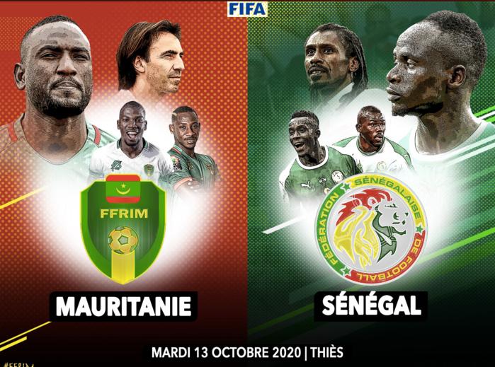 """Match amical : Les """"Lions"""" du Sénégal affronteront la Mauritanie en octobre."""