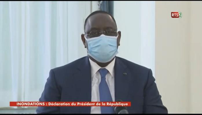 Inondations : Le président Macky Sall décide la poursuite du Plan décennal de lutte.