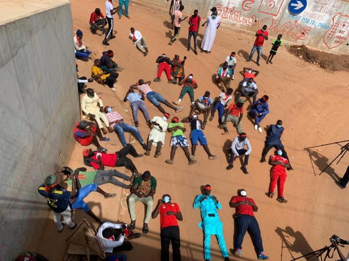 Décès Bassirou Sarr : L'Hommage inédit des jeunes de Guinaw Rails Sud (Images)