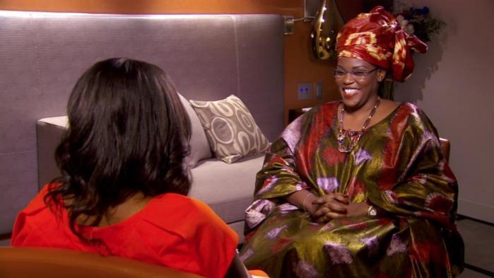 La première Dame, Mariéme Faye Sall a fait sa première interview télévisée internationale sur CNN avec Isha Sesay de CNN