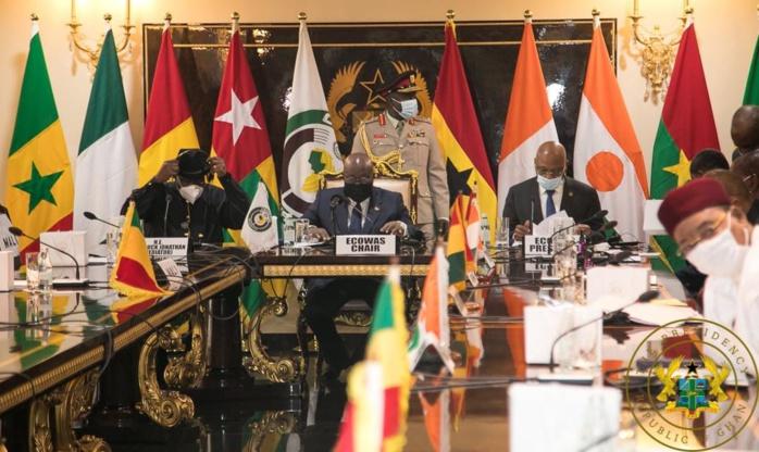 Rencontre avec le CNSP à Accra : Les exigences de la CEDEAO...