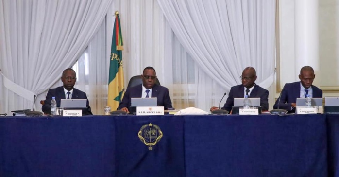 La nomination en conseil des ministres du Mercredi 15 Septembre 2020