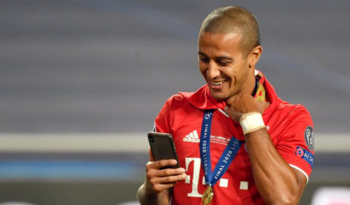 "Transfert / Liverpool : Thiago Alcantara bientôt ""Red"", un accord à hauteur de 30 millions d'euros trouvé."