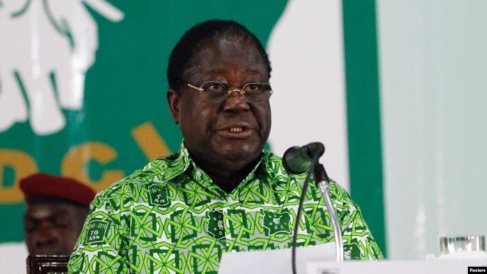 Côte d'Ivoire : Henri Konan Bédié appelle à la désobéissance civile.