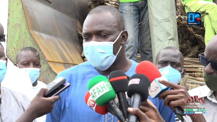 Journée Assainissement à Touba / Le ministre Abdou Karim Fofona envoie du matériel de nettoiement.