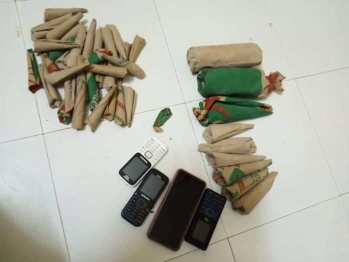 Vente de chanvre indien à Mbacké / Un grand chef de réseau est tombé avec 750 grammes.