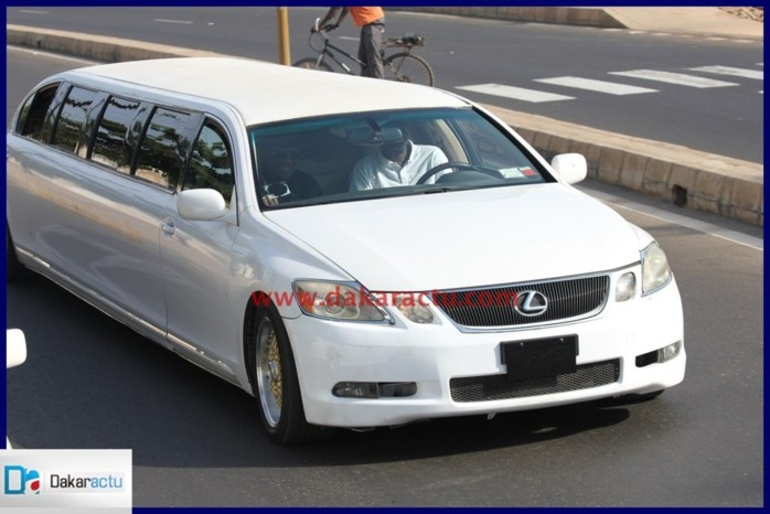 La limousine Lexus de Cheikh Ahmadou Kara Mbacké