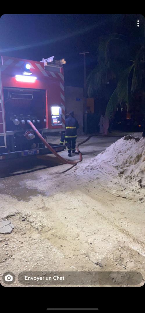 Urgent : La maison de Aby Ndour a pris feu.