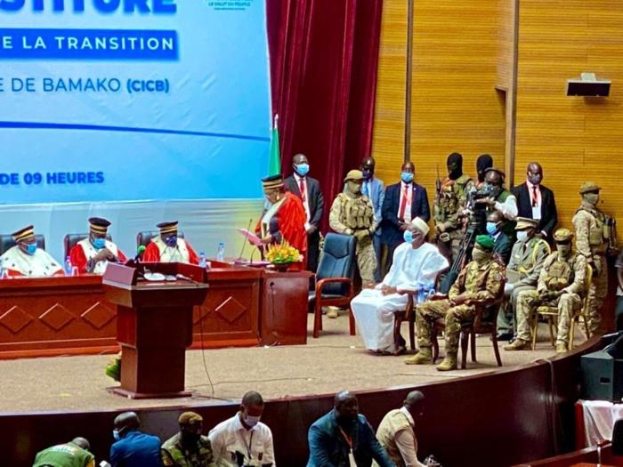 Mali : Le président et le vice-président de la Transition ont prêté serment.