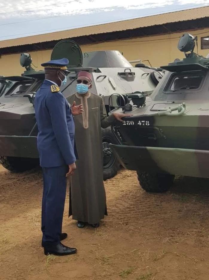 Sécurité nationale : L'armée se dote de nouveaux équipements.