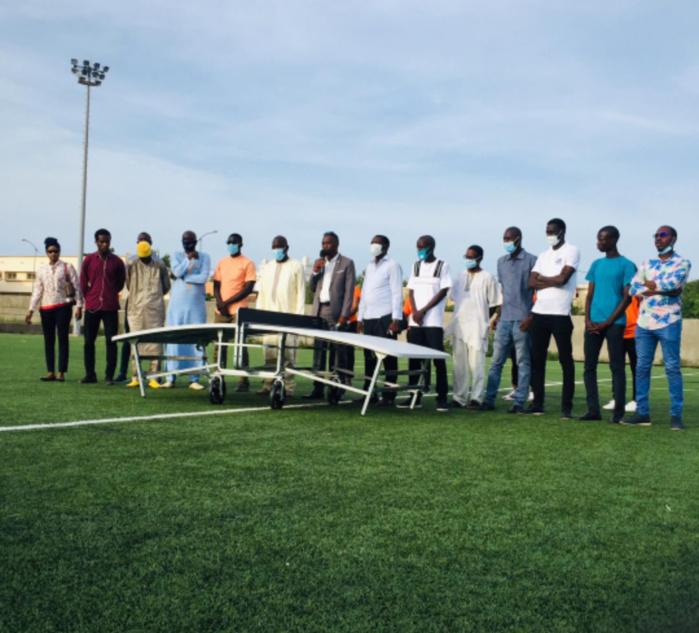 Teqbal / Distribution d'équipements : 31 équipes dotées de table de jeu.
