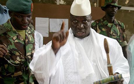 Le couteau tranchant qui agonisera la region , le  SENEGAL encore otage de JAMMEH.