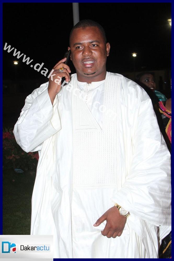 Shamsidine Aidara, le mari de Thiané Diagne était aussi au grand theatre pour soutenir sa femme