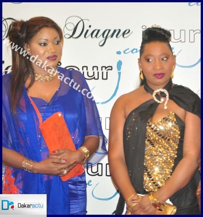 La styliste Nadoura en compagnie de Yayi Design