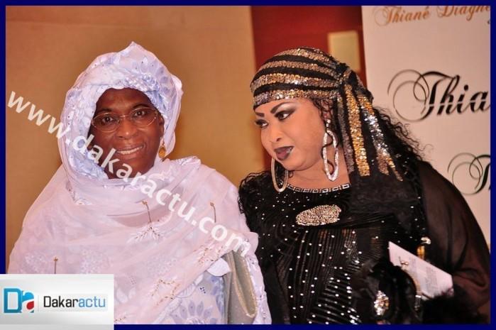 La maman de Thiané Diagne et Déguène Chimère